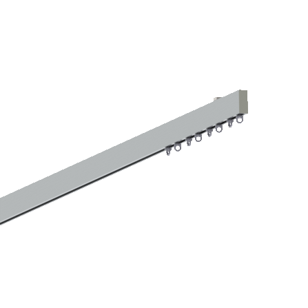 flat - straight track