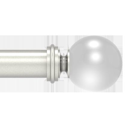 crystal globe finial