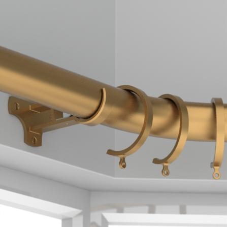 bay pole - brass