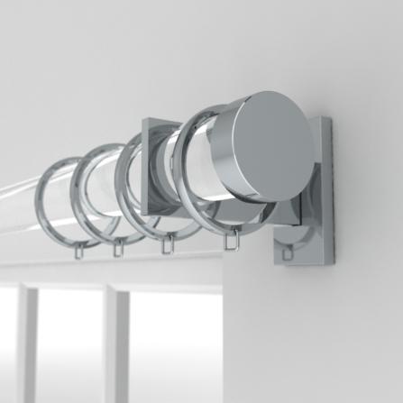 straight acrylic pole