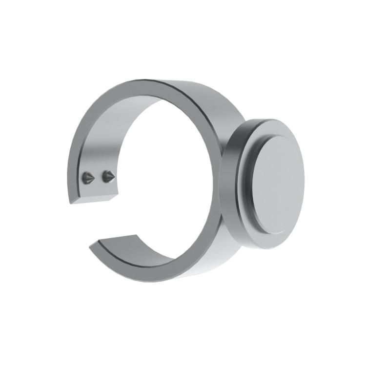 optional bracket band & thumb wheel